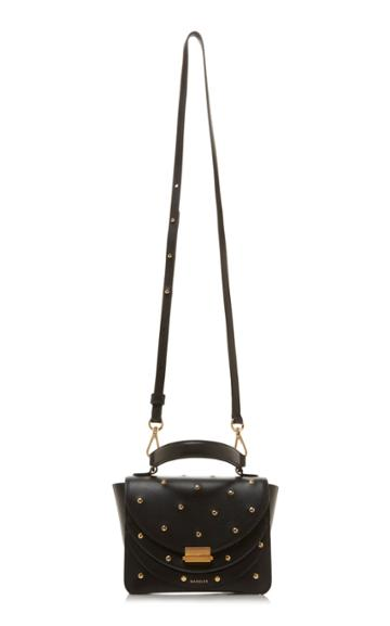 Wandler Luna Mini Stud-embellished Leather Shoulder Bag