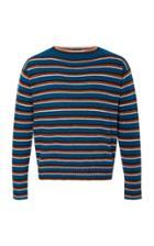 Prada Striped Wool Boatneck Sweater