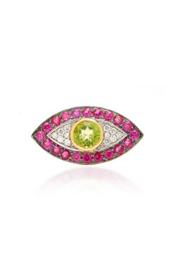 Holly Dyment Evil Eye Ring