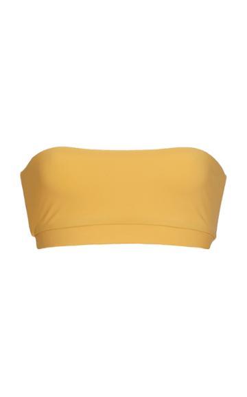 Anemone Banded Bandeau Bikini Top