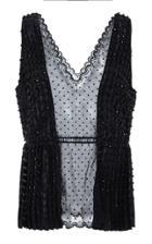 Moda Operandi Altuzarra Therese Bead-embellished Silk Blouse Size: 36
