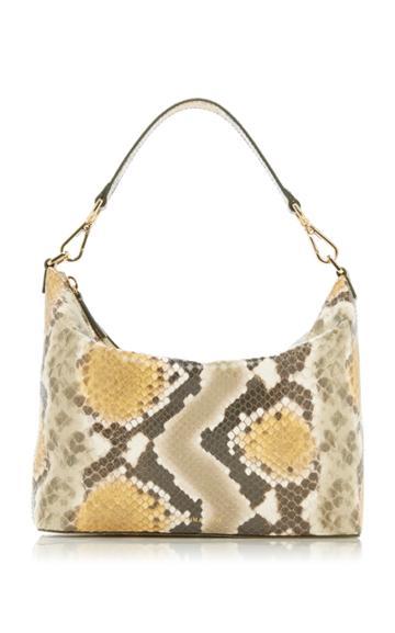Moda Operandi Rejina Pyo Alma Snake-effect Leather Shoulder Bag