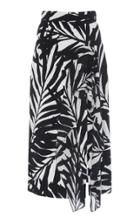 Michael Kors Collection Ruffled Pencil Skirt