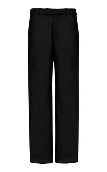 Bottega Veneta Wool Straight-leg Pants