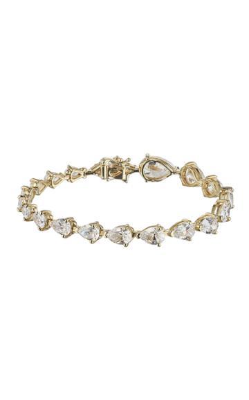 Moda Operandi Anabela Chan 18k Yellow Gold Diamond Nova Bracelet