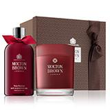 Molton-brown Rosa Absolute Bath & Candle Gift Set