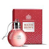 Molton-brown Delicious Rhubarb & Rose Festive Body Wash Bauble