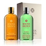 Molton-brown Mesmerising Oudh Accord & Gold & Eucalyptus Body Wash Gift Set