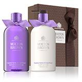 Molton-brown Exquisite Vanilla & Violet Flower Body Wash & Lotion Gift Set