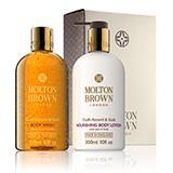 Molton-brown Oudh Accord & Gold Body Wash & Lotion Gift Set