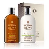 Molton-brown Black Peppercorn Body Wash & Lotion Gift Set
