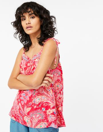 Monsoon Poppy Print Cami