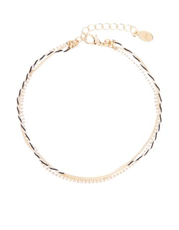 Monsoon Bar And Chain Anklet