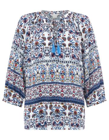 Monsoon Phylis Print Top