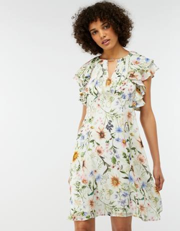 Monsoon Heidi Short Floral Dress