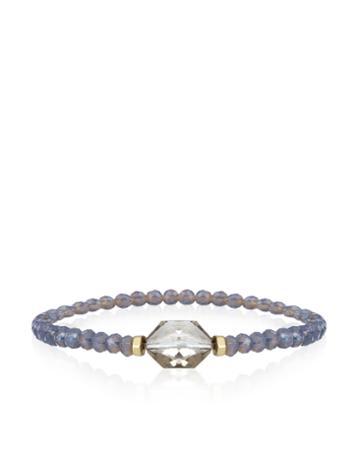 Monsoon Glass Faceted Bead Bracelet
