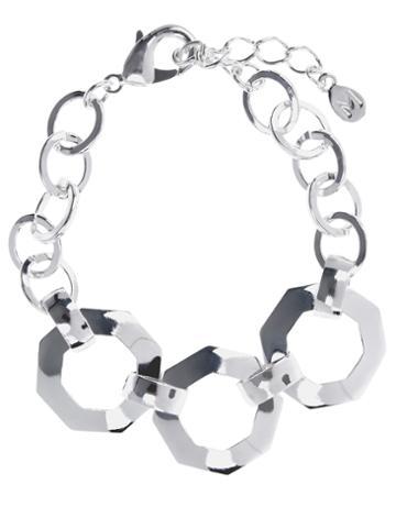 Monsoon Chunky Hexagon Chain Bracelet