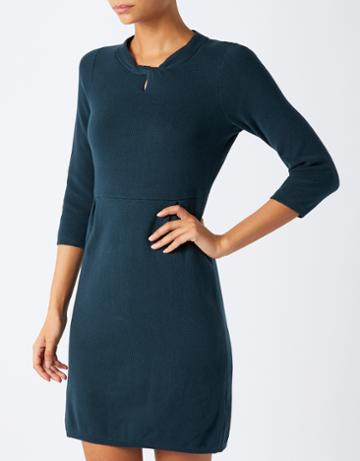 Monsoon Steffi Structured Knot Neck Dress