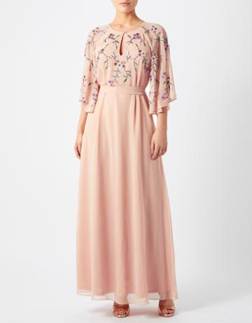 Monsoon Aisha Embroidered Maxi Dress
