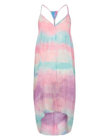 Monsoon Smudge Tie Dye Vest Dress