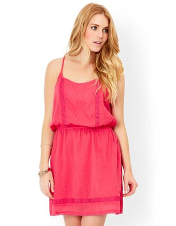 Monsoon Teaberry Waisted Strappy Dress