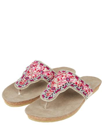 Monsoon Betsy Bright Footbed Sandals