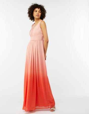 Monsoon Olwen Ombre Maxi Dress