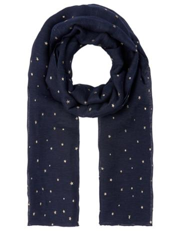 Monsoon Vega Star Linen Scarf