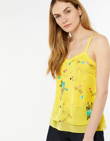 Monsoon Hermosa Embellished Cami Top
