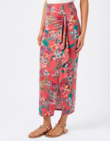 Monsoon Lindsay Print Maxi Skirt