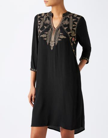 Monsoon Anishka Embroidered Dress