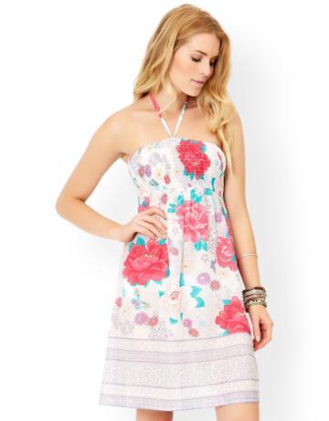 Monsoon Oriental Blossom Bandeau Dress
