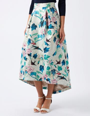 Monsoon Daya Jacquard Skirt