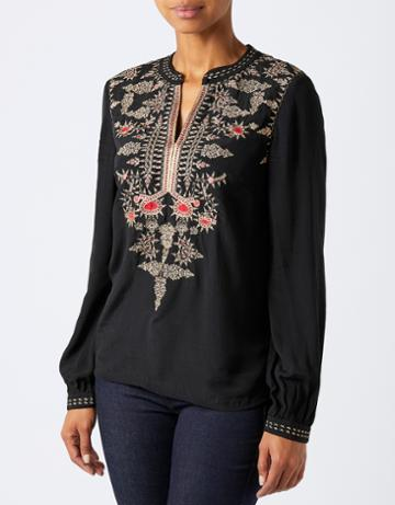 Monsoon Anishka Embroidered Top