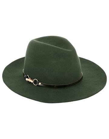 Monsoon Felt Fedora Plaited Trim Hat