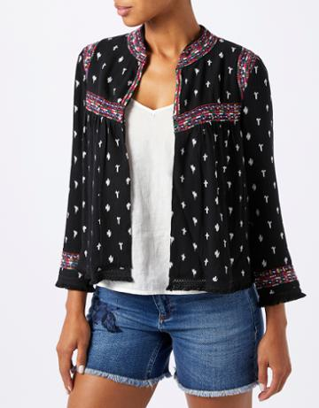 Monsoon Izzie Ikat Jacket