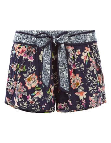 Monsoon Jasmine Floral Wrap Shorts