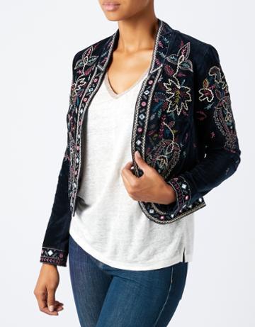 Monsoon Gabriella Embroidered Jacket