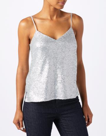 Monsoon Octavia Sequin Cami Top