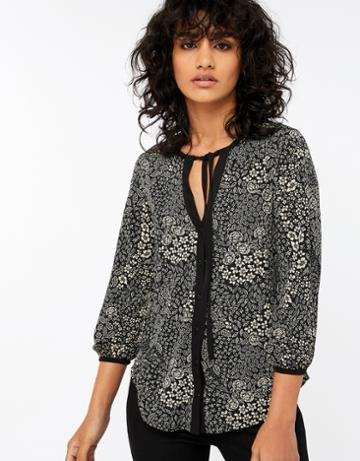 Monsoon Nancy Print Shirt