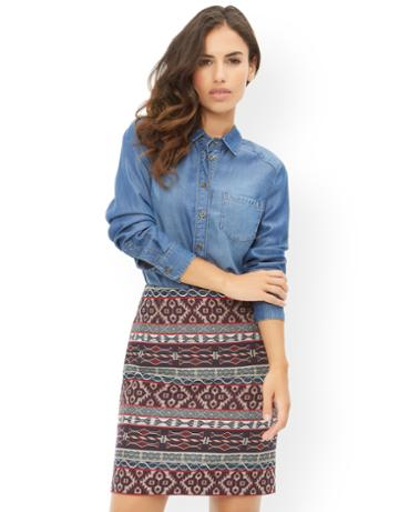 Monsoon Jenna Jacquard Skirt