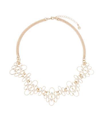Monsoon Filigree Short Profile Necklace