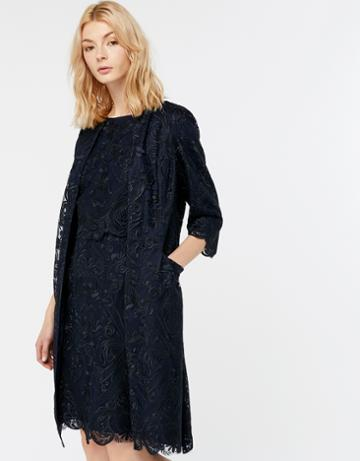 Monsoon Olga Lace Longline Jacket
