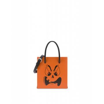Moschino Pumpkin Face Handbag Woman Orange Size U It - (one Size Us)