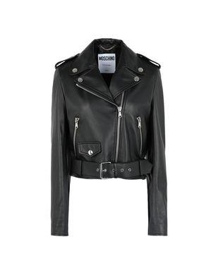 Moschino Leather Outerwear - Item 41820011