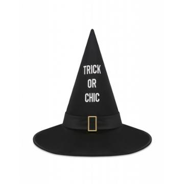 Moschino Trick Or Chic Hat Woman Black Size S It