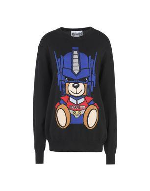 Moschino Long Sleeve Sweaters - Item 39758972