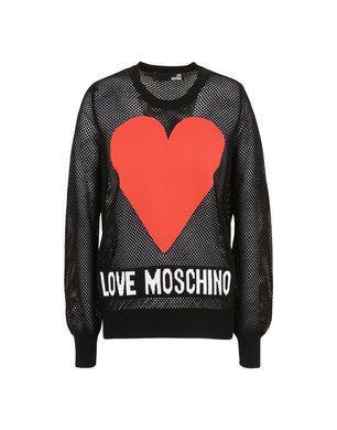 Love Moschino Long Sleeve Sweaters - Item 39841415