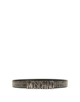 Moschino Leather Belts - Item 46571713