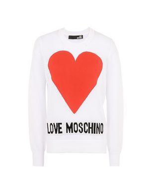 Love Moschino Long Sleeve Sweaters - Item 39841430